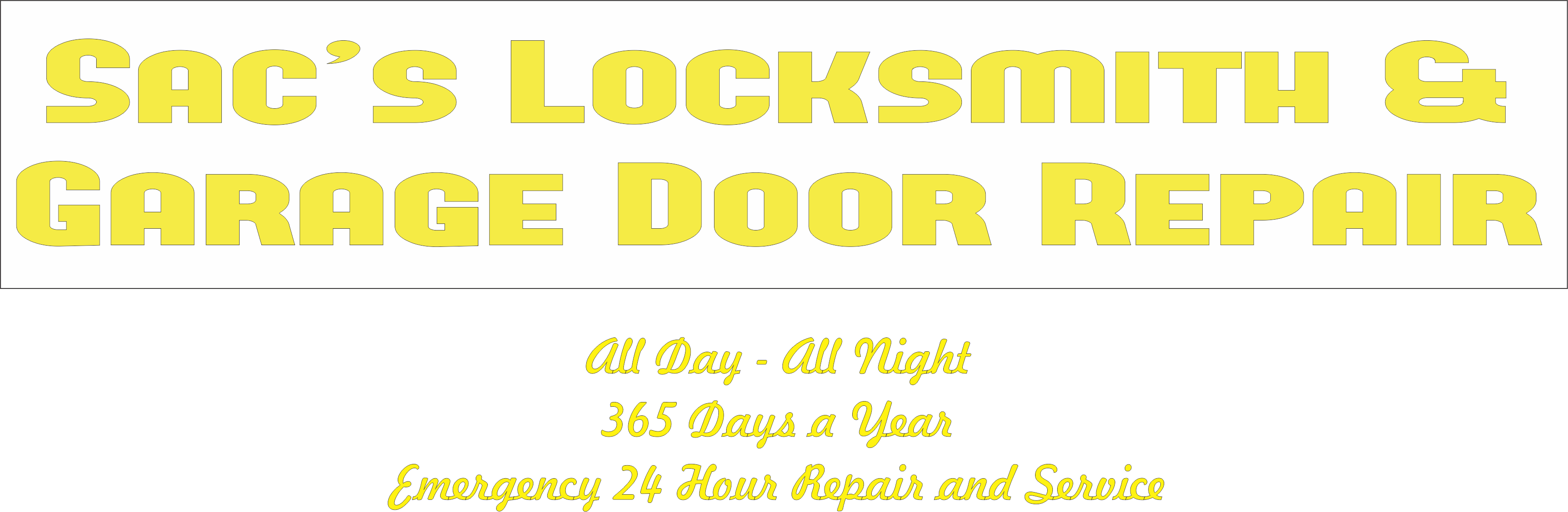 Sac S 24 Hour Locksmith Amp Garage Door Repair Sac S