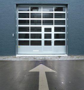 Auto Shop Door