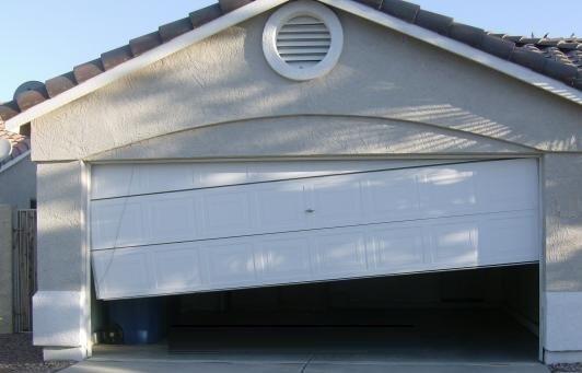 The Dangers Of Reusing Old Garage Door Tracks