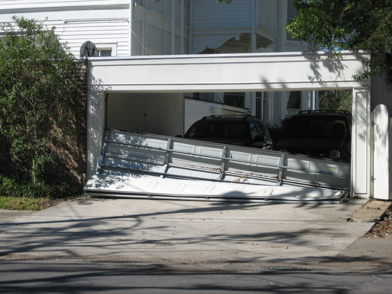 Will Your Insurance Pay For Garage Door Damage
